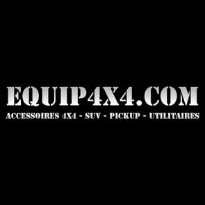 MISUTONIDA Pare-Buffle Inox Thermolaque Noir Ø 63 Toyota Hilux 2016+ Ce ECMED450N-20