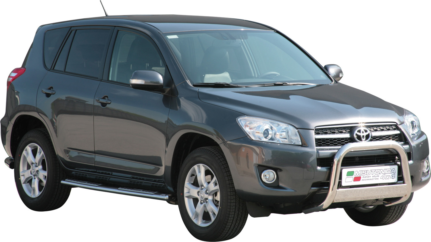 pare buffle inox 63 toyota rav4 2008 2009 ce. Black Bedroom Furniture Sets. Home Design Ideas