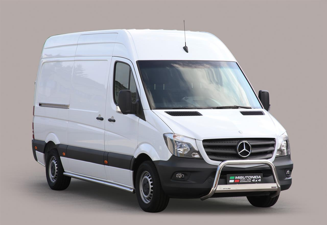 pare buffle inox 63 mercedes sprinter 2013 ce. Black Bedroom Furniture Sets. Home Design Ideas