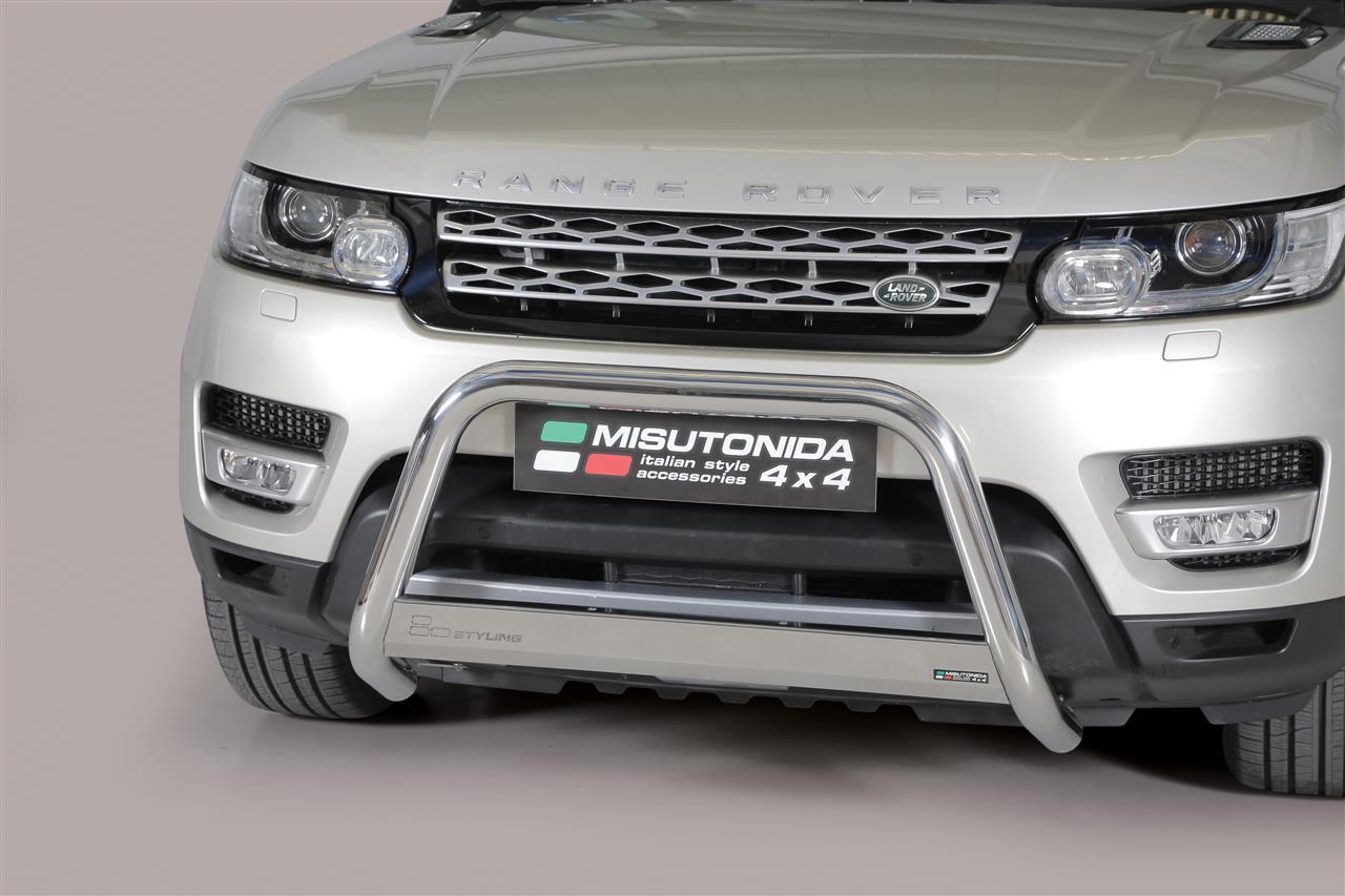 pare buffle inox 63 landrover range rover sport 2014 ce. Black Bedroom Furniture Sets. Home Design Ideas