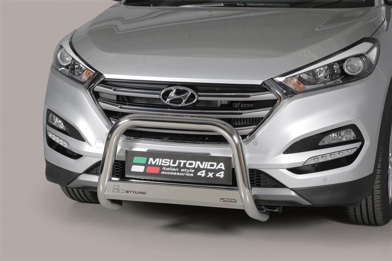 Pare Buffle Inox 216 63 Hyundai Tucson 2015 Ce