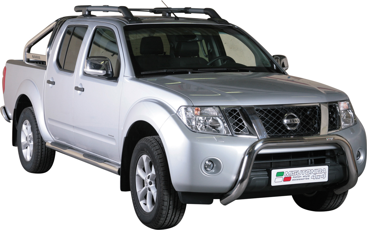 pare buffle inox 76 nissan navara d40 pathfinder 2010 ce v6 super bar. Black Bedroom Furniture Sets. Home Design Ideas