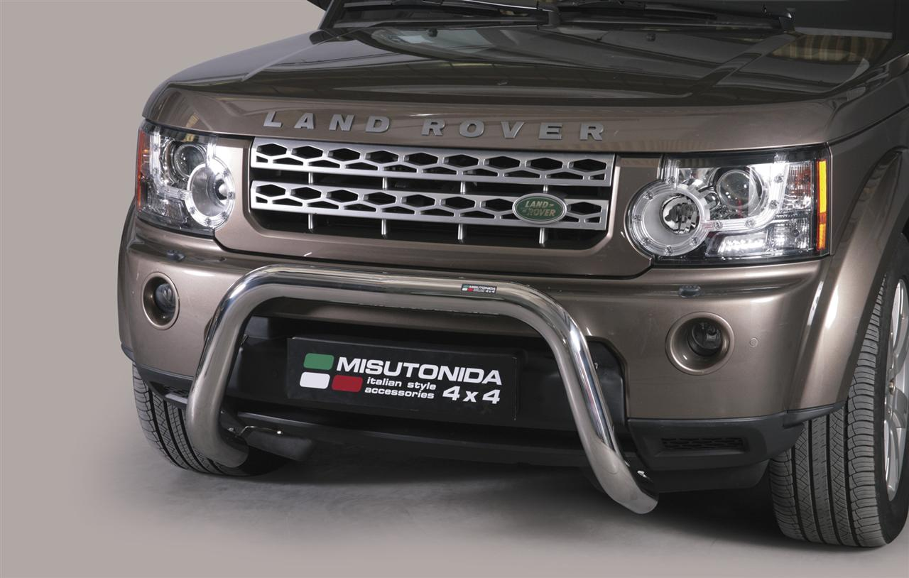pare buffle inox 76 land rover discovery 4 2012 ce super bar. Black Bedroom Furniture Sets. Home Design Ideas