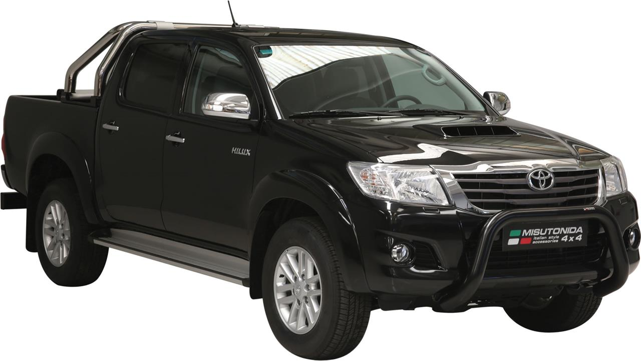 pare buffle thermolaque noir toyota vigo hilux 2012 ce super bar. Black Bedroom Furniture Sets. Home Design Ideas