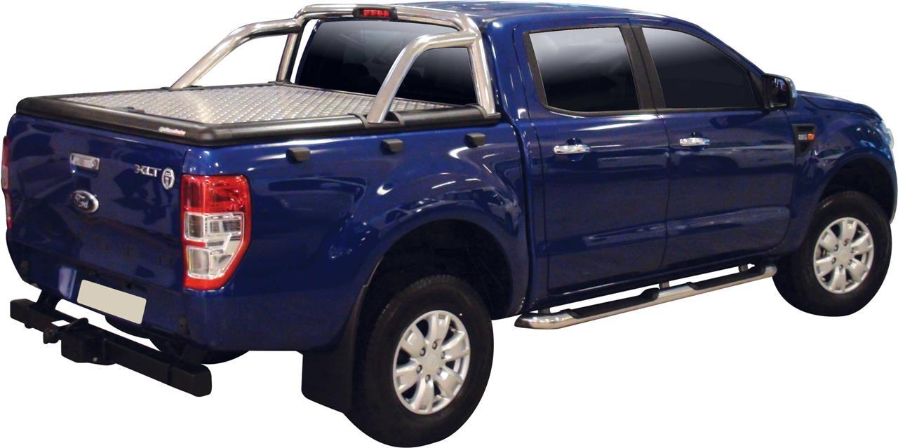 couvre benne alu ford ranger cab 2012 comp roll bar version xlt