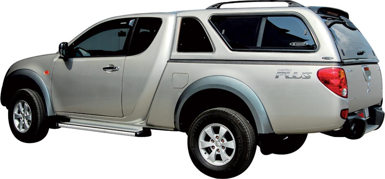 hard top carryboy mitsubishi l200 club cab 2010 benne haute. Black Bedroom Furniture Sets. Home Design Ideas