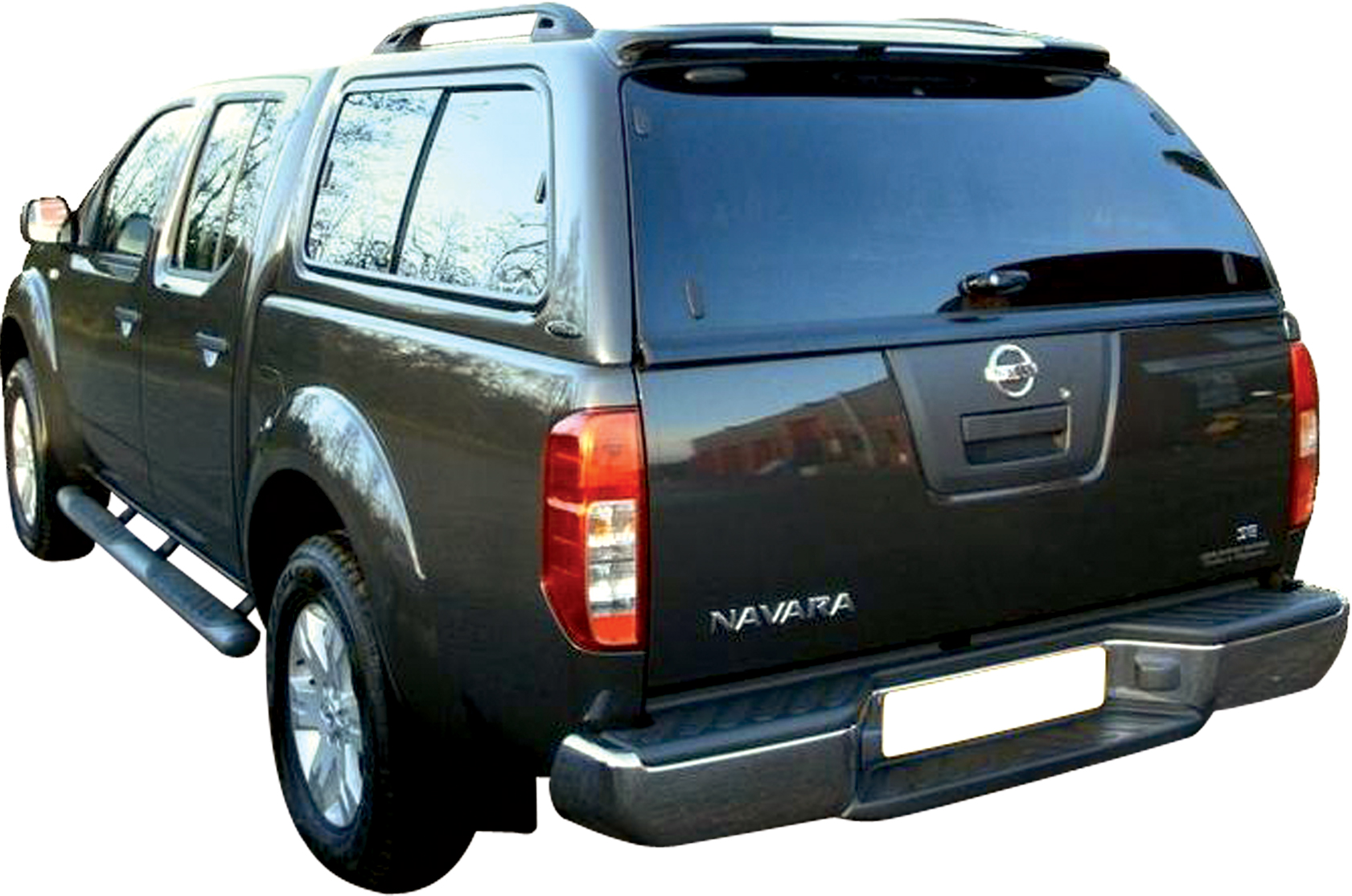 hard top carryboy nissan navara king cab 05 avec vitres. Black Bedroom Furniture Sets. Home Design Ideas