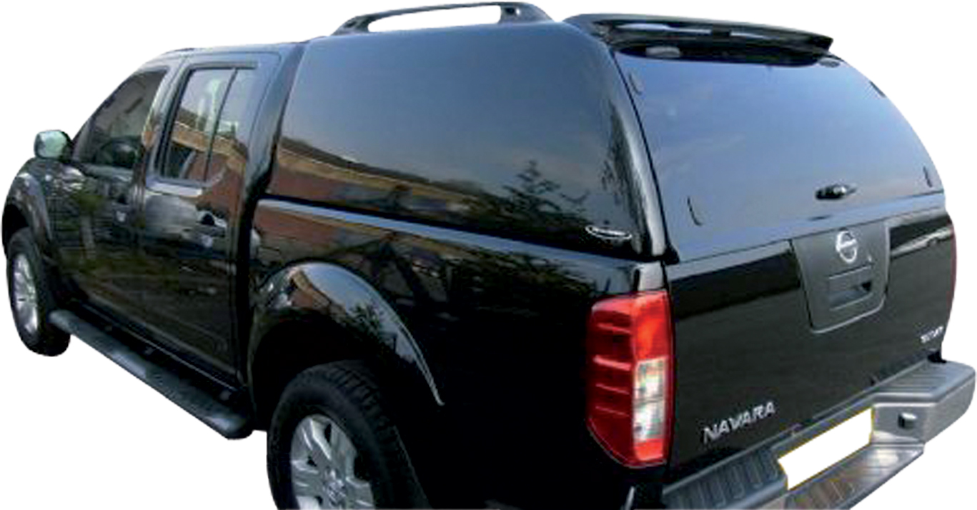 hard top carryboy nissan navara king cab 05 sans vitres. Black Bedroom Furniture Sets. Home Design Ideas