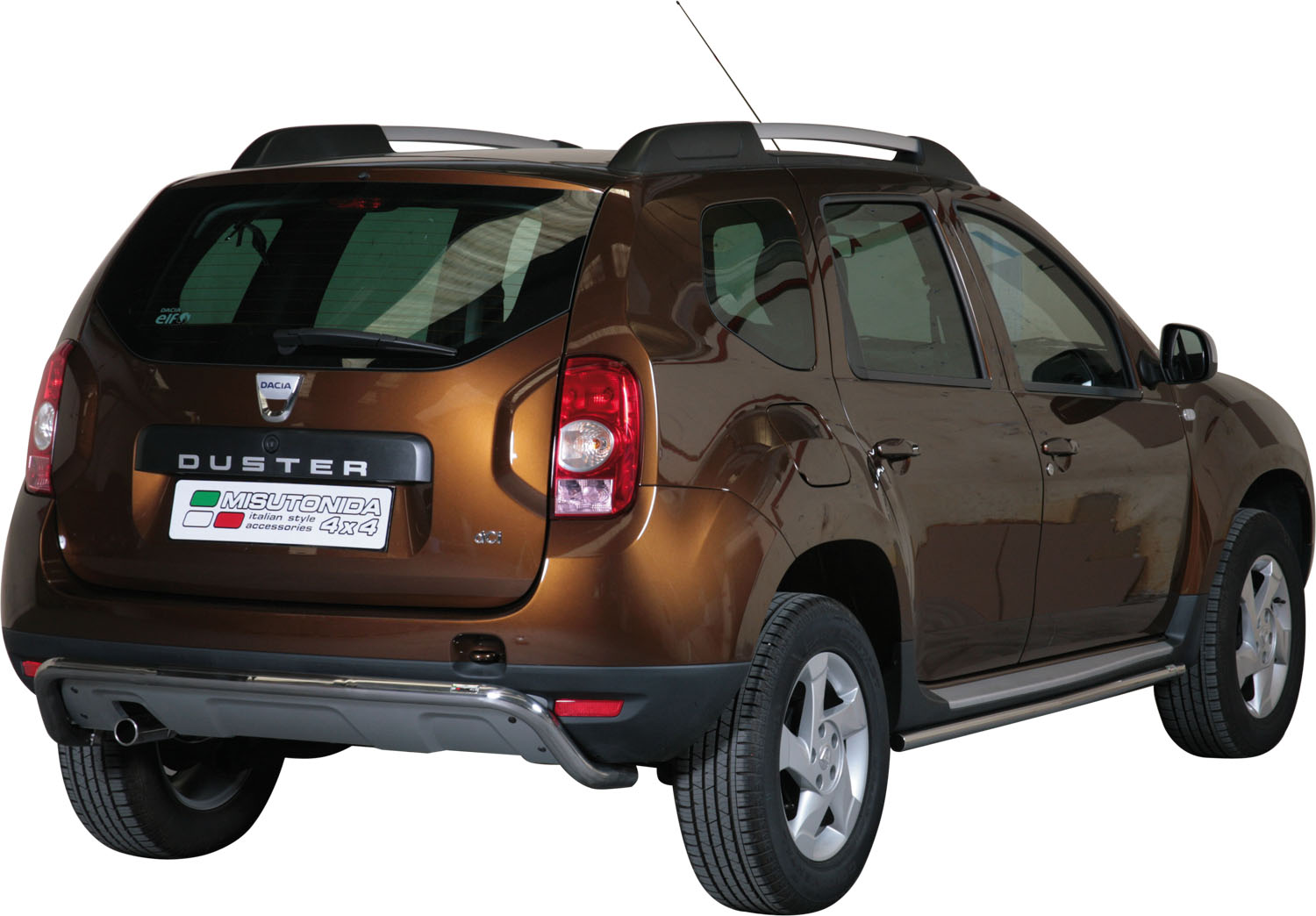 pare choc arriere inox 50 dacia duster 2010. Black Bedroom Furniture Sets. Home Design Ideas