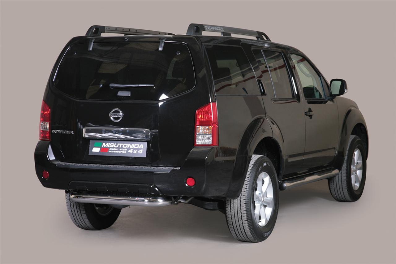 pare choc arriere inox 76 nissan pathfinder 2011. Black Bedroom Furniture Sets. Home Design Ideas