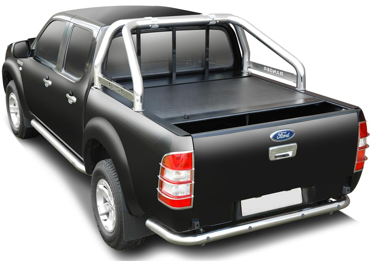 couvre benne retractable ford ranger 2012 cab roll top cover