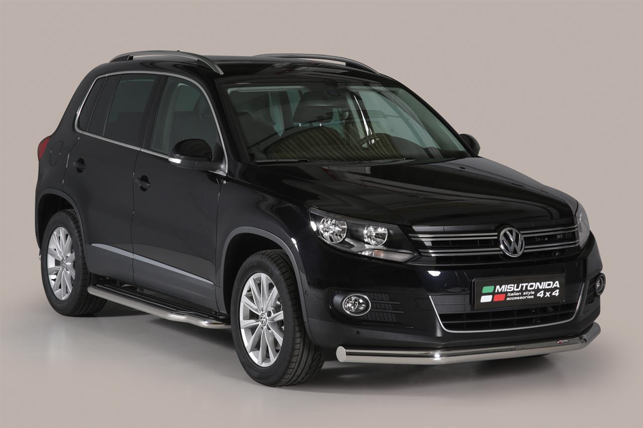 tube protection avant inox 76 volkswagen tiguan 2011. Black Bedroom Furniture Sets. Home Design Ideas