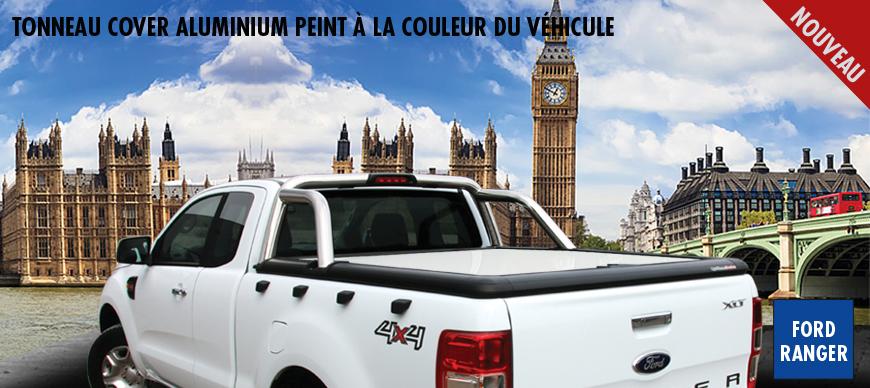 Nouveau tonneau cover peint à la couleur du véhicule