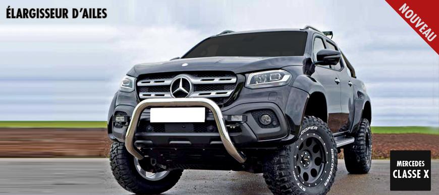 Mercedes Classe X - Elargisseur D'ailes