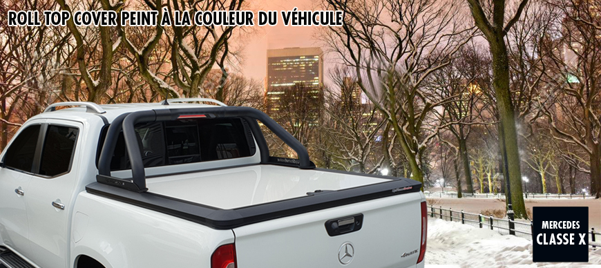 Mercedes tonneau cover peint