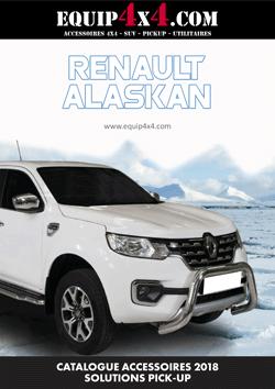 Catalogue 2018 Accessoires Pickup RENAULT ALASKAN