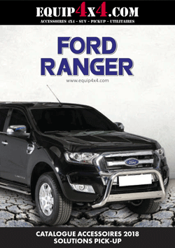 Catalogue 2018 Accessoires Pickup FORD Ranger