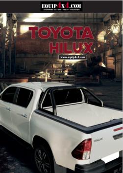 Catalogue 2021 Accessoires Pickup TOYOTA HILUX