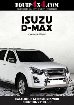 Catalogue 2018 Accessoires Pickup ISUZU D-MAX