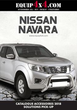 Catalogue 2018 Accessoires Pickup NISSAN Navara