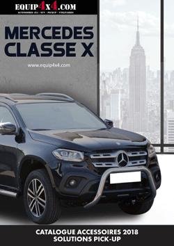 Catalogue 2018 Accessoires 4x4 / Pickup MERCEDES CLASSE X