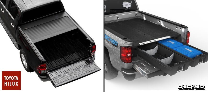 Accessoires Toyota Hilux - Decked